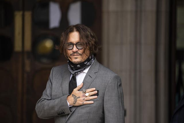 <p>High Court dismissed Johnny Depp's libel action over 'wife beater' claims</p>