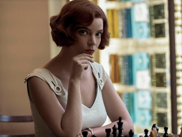 <p>Anna Taylor-Joy plays chess prodigy Beth Harmon in The Queen's Gambit</p>