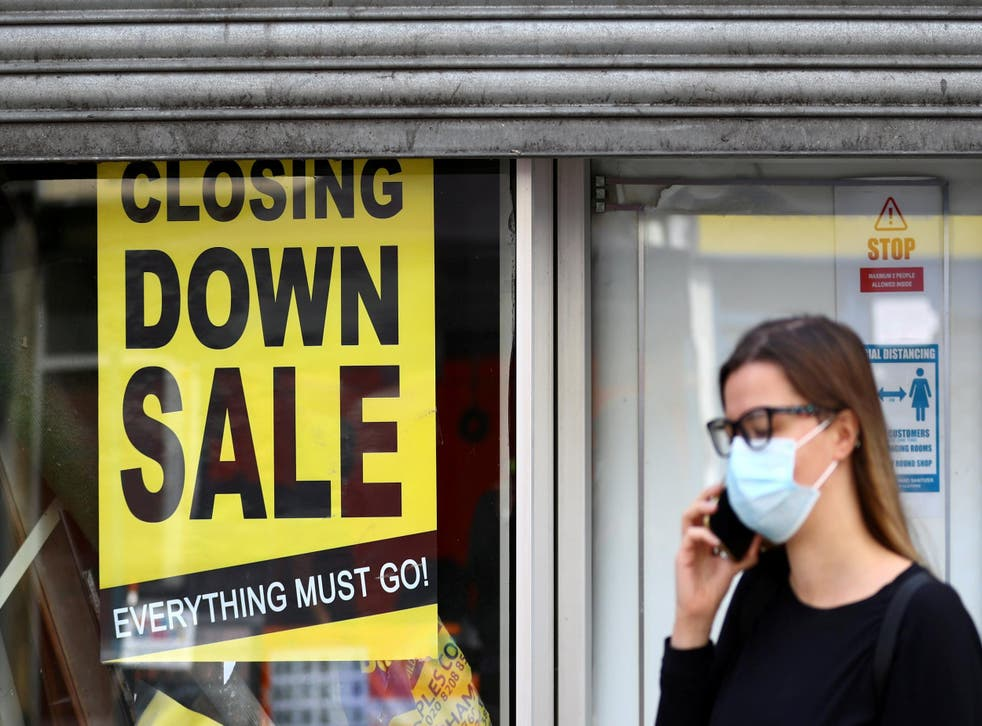 One in 10 jobs in town centres, from shop assistants to taxi drivers, under threat
