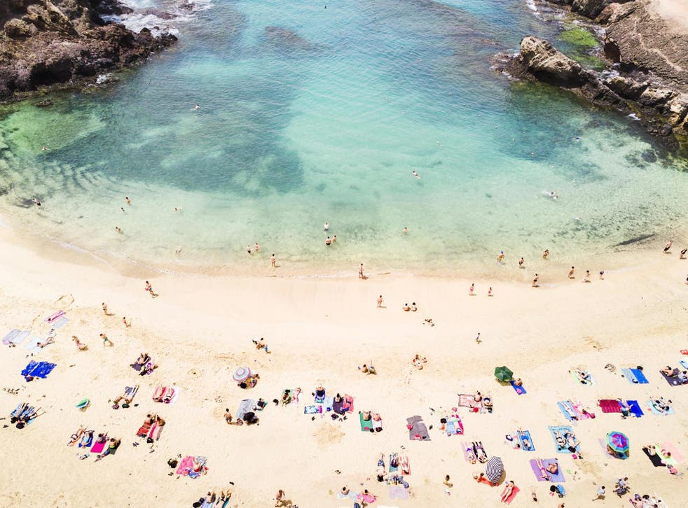 <p>Lanzarote is a popular spot for British holidaymakers</p>