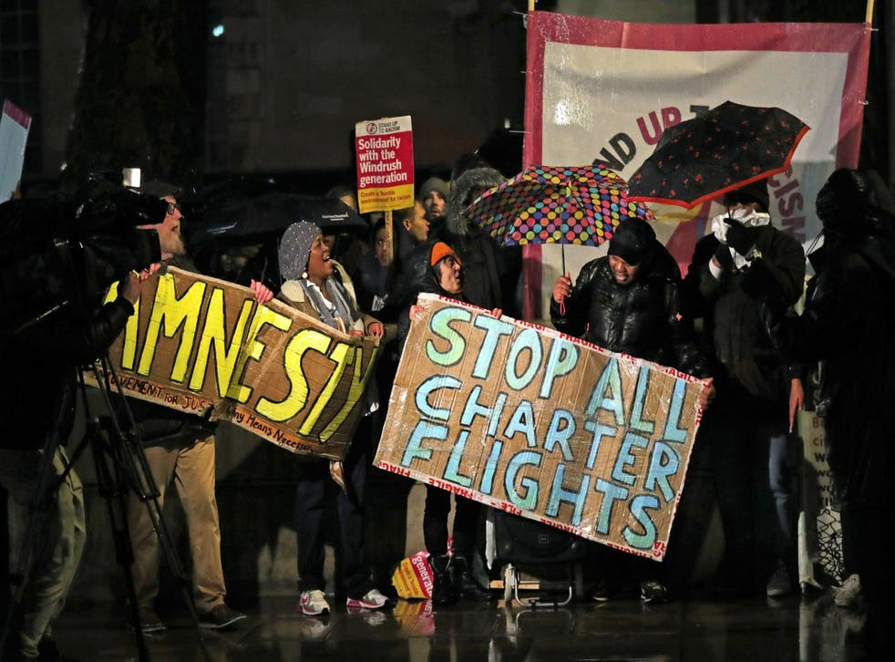 <p>Campaigners say the deportations amount to 'double pubishment'</p>