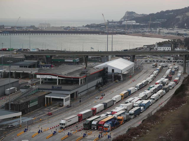 <p>Organised crime networks use lorries as one way to smuggle people into the UK</p>