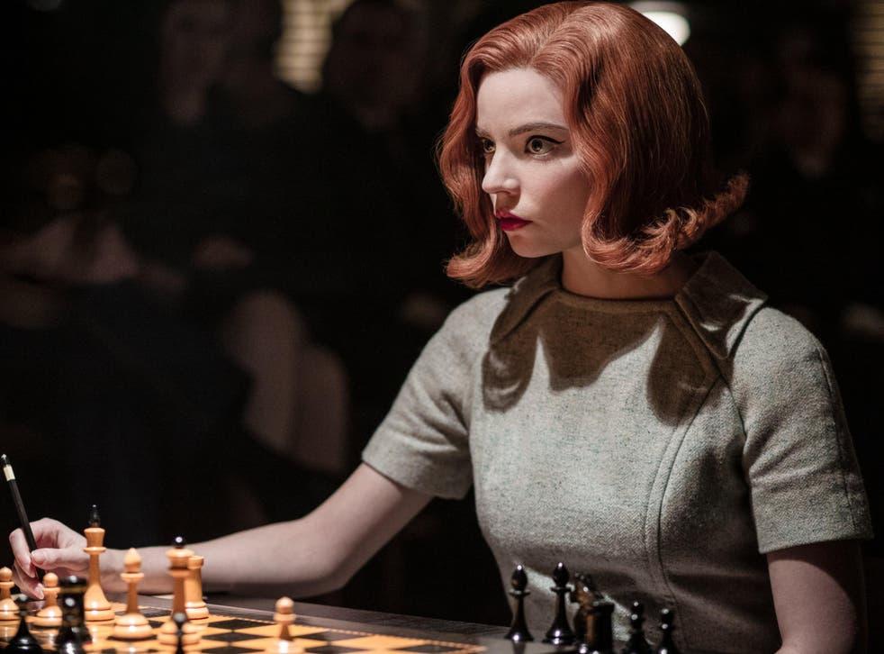 <p>Anya Taylor-Joy in The Queen's Gambit</p>