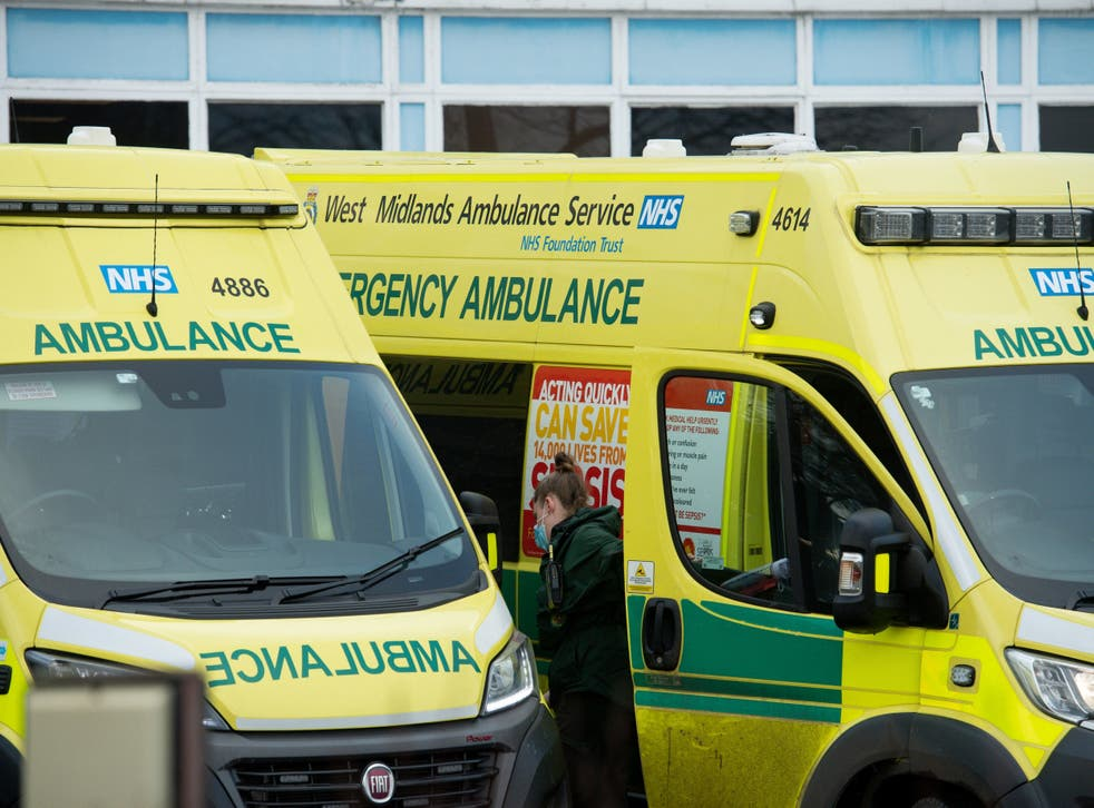 <p>West Midlands Ambulance Service has seen record levels of 999 calls this month</p>