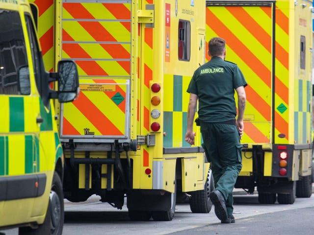 El Partido Laborista obtuvo datos de nueve de los 10 fideicomisos de ambulancias en Inglaterra