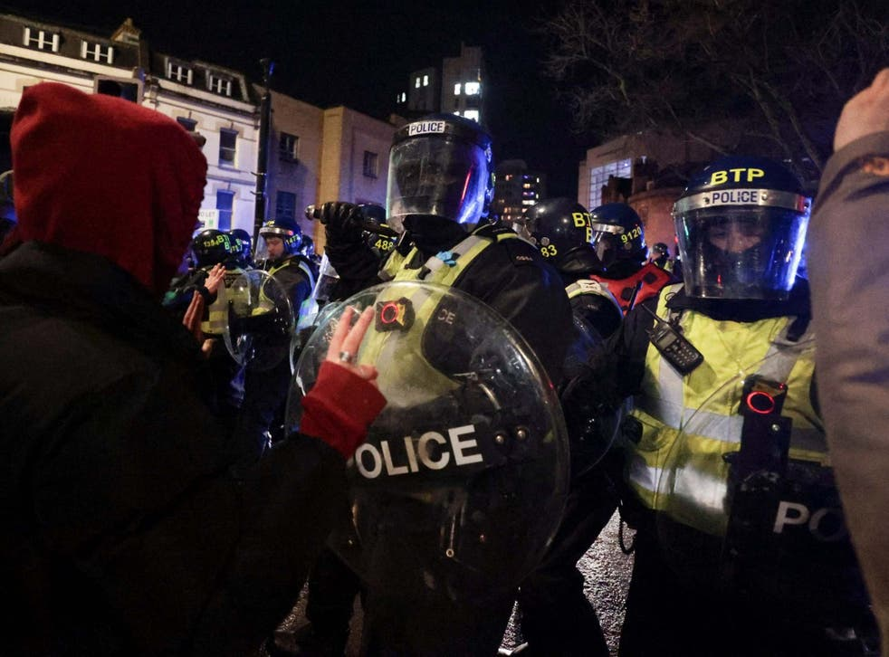 <p>The proposals have sparked 'Kill the Bill' protests across the UK</p>