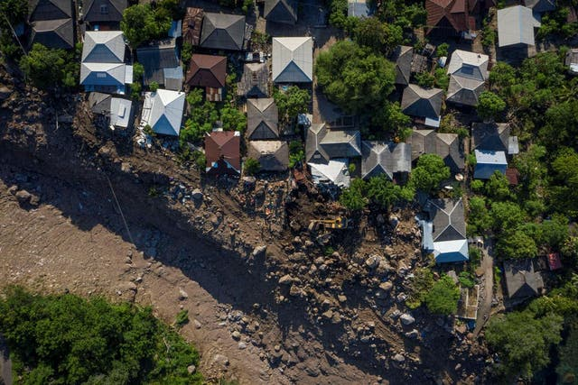 <p>A tropical cyclone on Australia's west coast destroyed several homes and cut electricity to tens of thousands in 2021 </p>