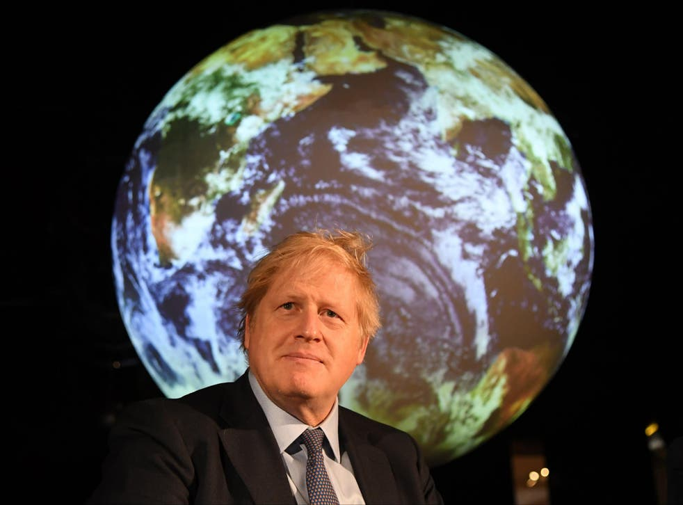 <p>PM Boris Johnson will act as president of the UN Climate Change Conference in Glasgow from 1 November</p>