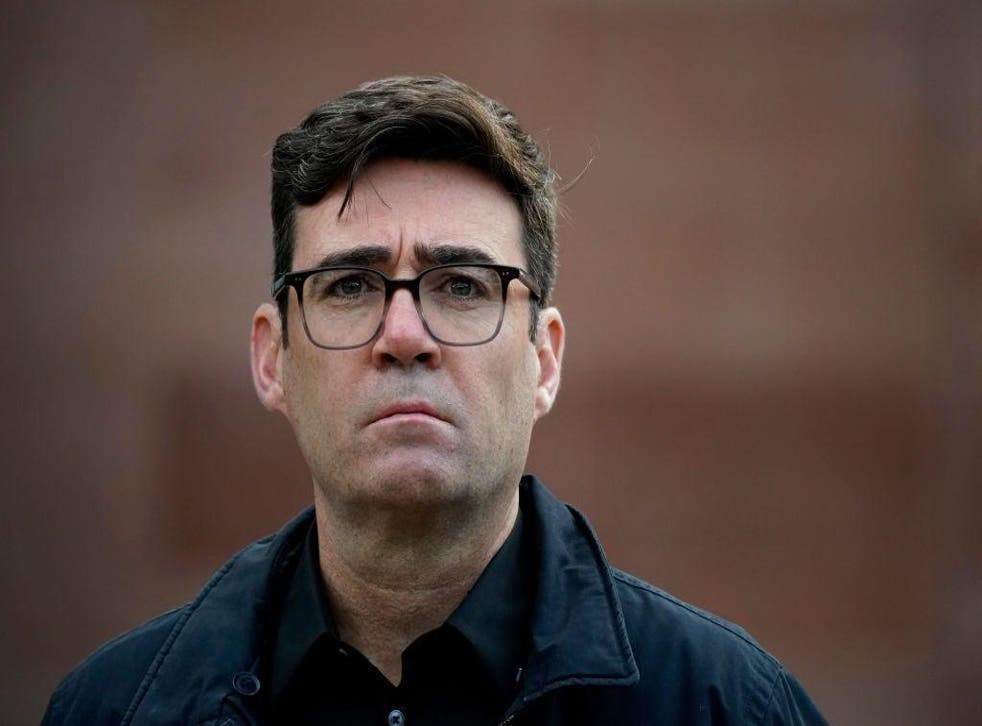 <p>The mayor of Greater Manchester, Andy Burnham</p>