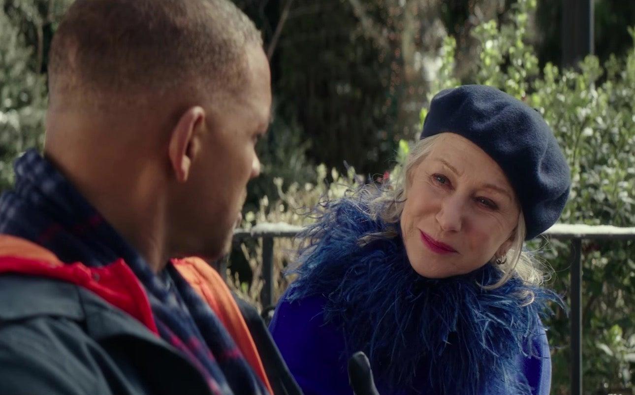 Collateral Beauty trailer: Helen Mirren plays Death in Will Smith tearjerker
